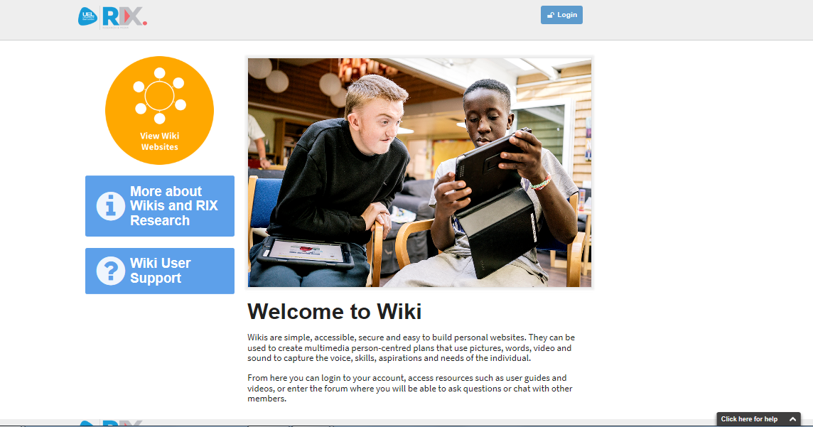 Welcome to Wiki homepage